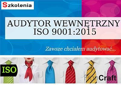 SZKOLENIE AUDYTOR SYSTEMU JAKOŚCI ISO 9001