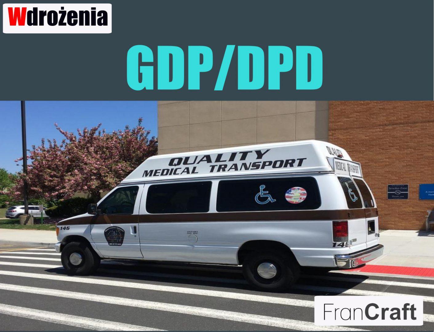 certyfikacja GDP/DPD dobre praktyki dystrybucyjne