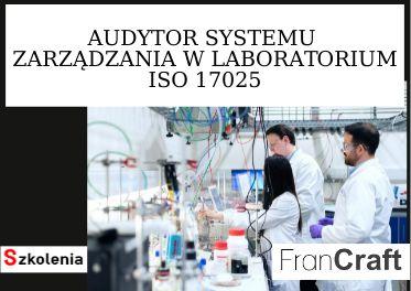 audytor systemu zarządzania w laboratoriach ISO 17025 szkolenie