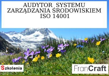 audytor systemu zarządzania środowiskiem ISO 14001 szkolenie